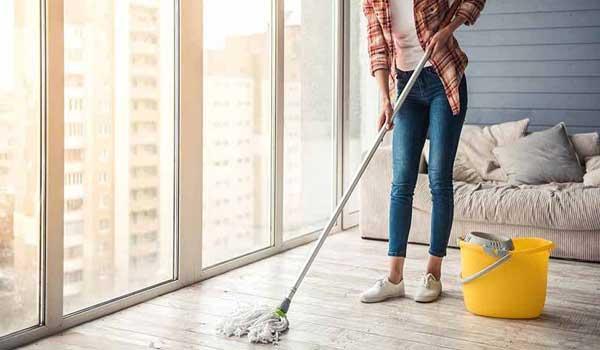 نظافتچی جوان و نظافت منزل توسط خانم با بهترین قیمت نظافت منزل