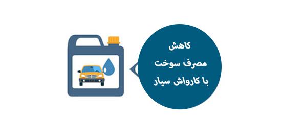 کارواش نانو در محل شرق تهران