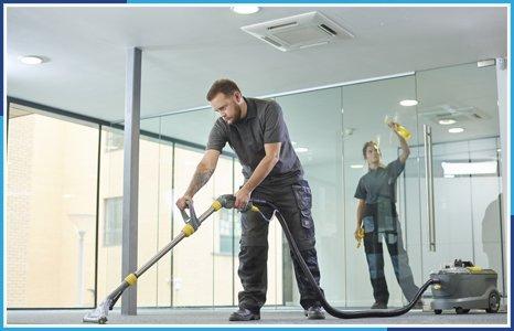 خدمات نظافتی: نظافت شرکت و محل کار